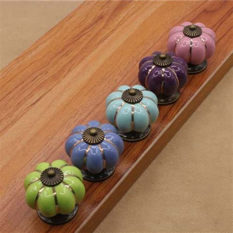 Childrens Drawer Knobs And Handles by Sale Pumpkin Ceramic Knobs Pulls Dresser Drawer