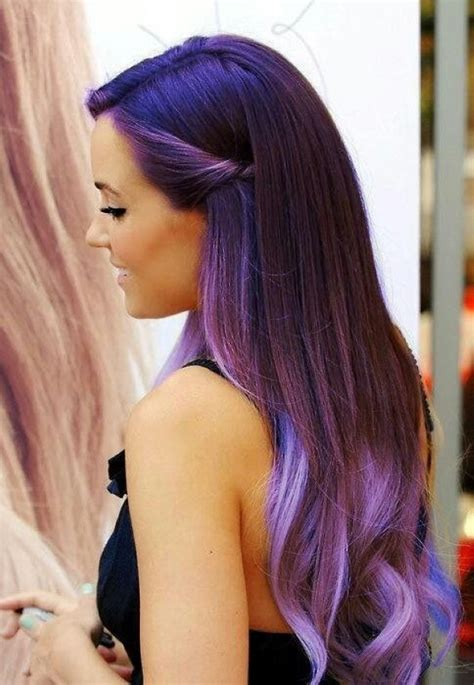 dyed hairstyles purple 5 worst and best purple hair dye outcomes