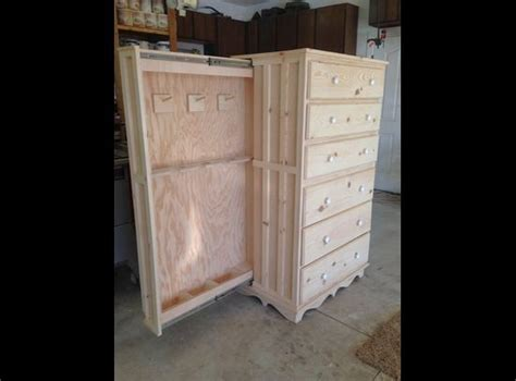 Secret Cabinet by Gun Cabinets Gun And Drawers On