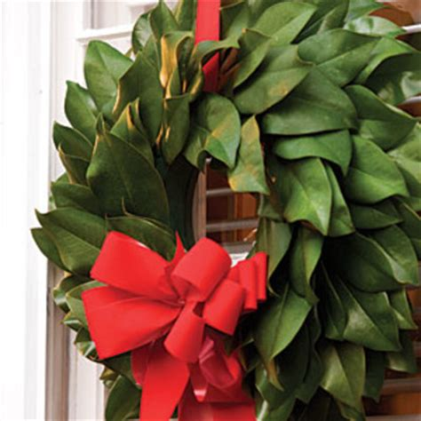 how to make a magnolia wreath southern living make your own magnolia wreath most pinned christmas