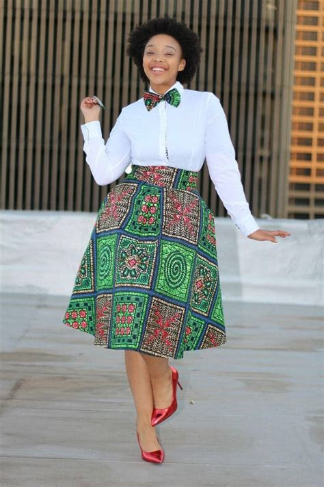ankara skirts styles african print skirt with bow tie african clothing ankara