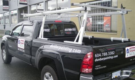 Toyota Tacoma Lumber Rack by Commercial Racks And Carriers Topperking Topperking