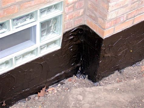 amazing exterior waterproofing membrane exterior