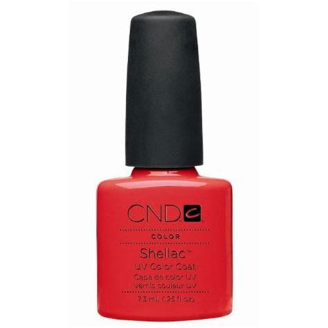 cnd shellac uv color coat gel nail cnd nail