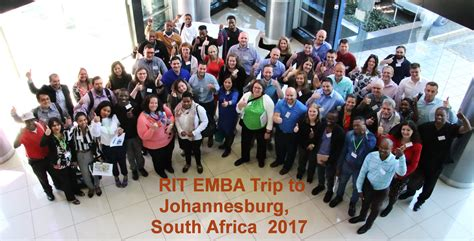 Mba Colleges In South Africa by Emba Goes To South Africa Saunders College Of Business