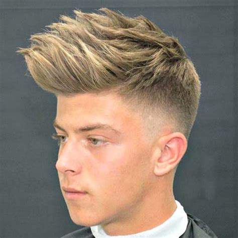 low fade with bangs 21 short sides long top haircuts 2017 men s haircuts