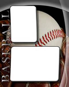 Memory Mate Templates by Baseball Photo Templates