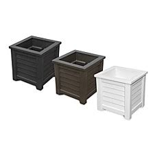 bed bath and beyond lakeland fl mayne lakeland 16 inch x 16 inch planter collection bed