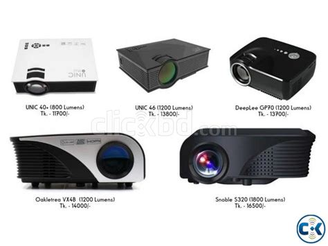 Proyektor Unic 46 unic uc 46 portable projector clickbd