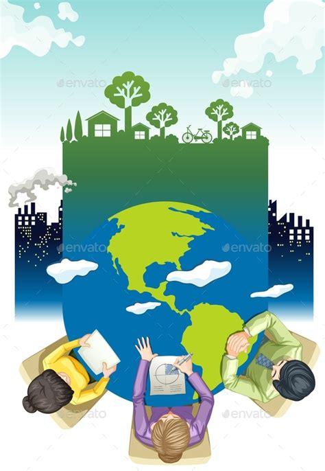 design for environment adalah contoh poster lingkungan dengan desain keren dan menarik