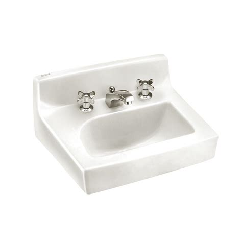 american standard penlyn wallmount bathroom sink in white
