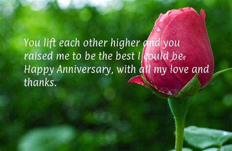 Wedding Anniversary Quotes For My Parents by Anniversary Quotes For Parents