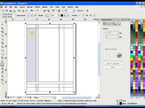 design invoice in coreldraw 225 howto create invoices with coreldraw 1 3