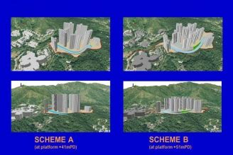 comparing  schemes  site formation design  integrating gis  cad  bim