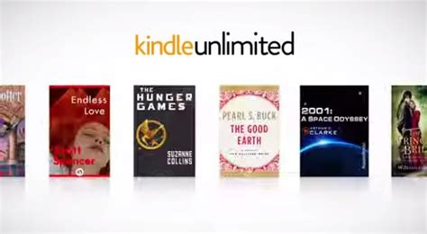 amazon unlimited books kindle unlimited monthly book subscription now available