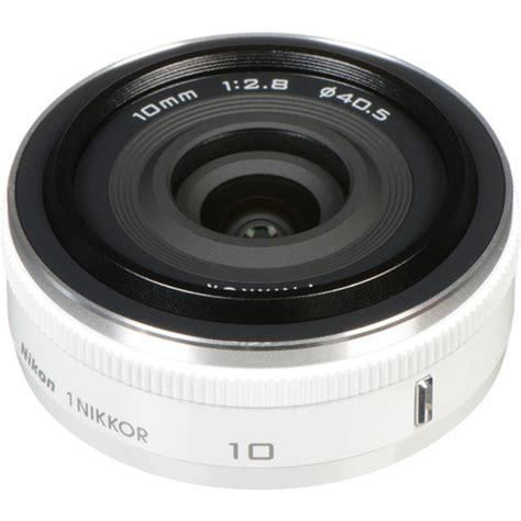 Lensa White Nikon nikon 1 nikkor 10mm f 2 8 lens white 3320 b h photo