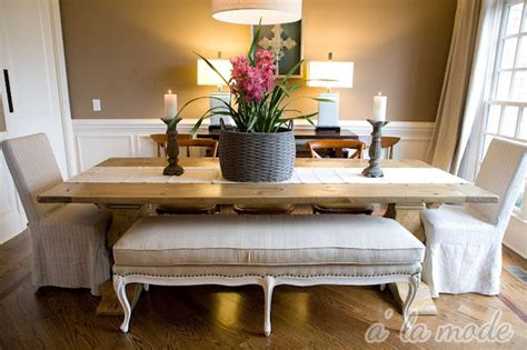 dining room farmhouse table alamode farm table fabulousness for less