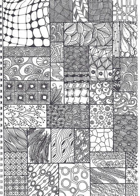 zentangle pattern sheet zentangle pattern sheet zentangle pinterest