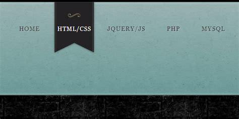 web design scripting tutorial 20 tutoriels pour cr 233 er un menu original avec html 5 et