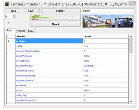 save game editor mod for farming simulator 2013 req team xpg farming simulator 15 save editor 0 2