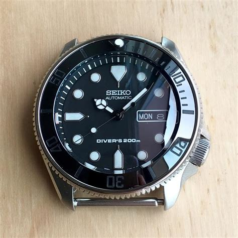 Dlw Ceramic Bezel Insert Seiko Mod Turtle Re Issue Sub Vintage Black bezel inserts tagged quot skx007 quot dlwwatches