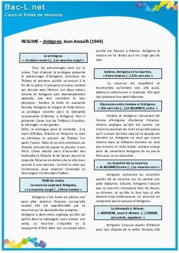 Resume D Antigone by R 195 ƒ 194 169 Sume Antigone
