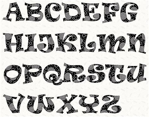 font templates to print alphabet ravie font 2 inch stencil letter patterns