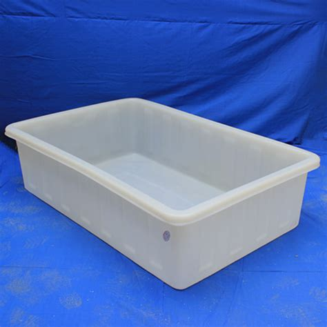 rectangular roto moulding plastic tub  fish buy