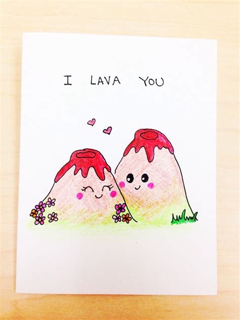 The Cutest Cardsi Just Had To My Newest L 3 by I Lava You Card Anniversary Card