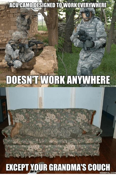 acu camo couch 25 best memes about camouflage joke camouflage joke memes