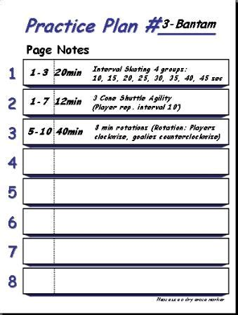 29 Images Of Blank Football Practice Template Helmettown Com Blank Practice Plan Template