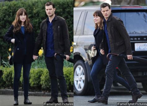 fifty shades darker filming now fifty shades darker dakota johnson and jamie dornan