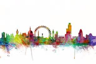 london skyline wall mural amp photo wallpaper photowall