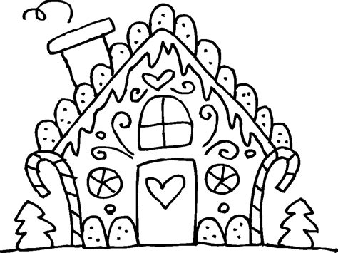 gingerbread house coloring pages 154436 500x355 coloring