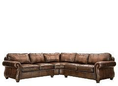 van gogh leather sectional van gogh 2 pc leather sectional sofa furniture pinterest
