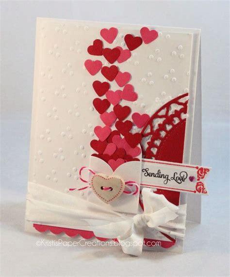 Handmade Birthday Cards For Lover - card sending you hearts handmade