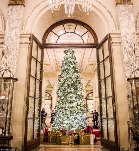 new york post newspaper best christmas presents top hotels around the world and their extravagant decorations daily mail