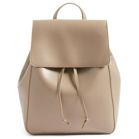 Faux Leather Backpack sole society ivan faux leather backpack rank style
