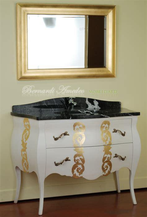 mobile per bagno pin mobili bagno laccato bianco arredamenti su misura on