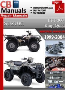 free online car repair manuals download 2010 suzuki equator auto manual suzuki atv lt 300 king quad 1999 2004 service repair manual ebooks automotive