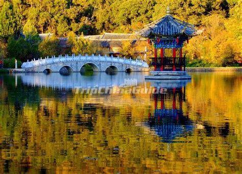 Black Dragon Pool Park Attractive Autumn Scenery Kunming   Kunming Black Dragon Pool Park