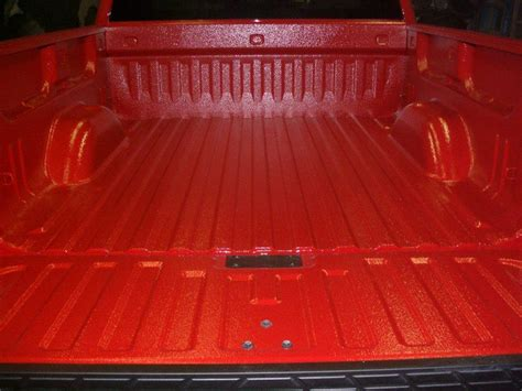 red bed liner truck bed liners