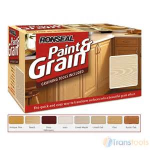 Easy Way To Paint Kitchen Cabinets Ronseal Paint And Grain Deep Mahogany Colour Finish 1 5