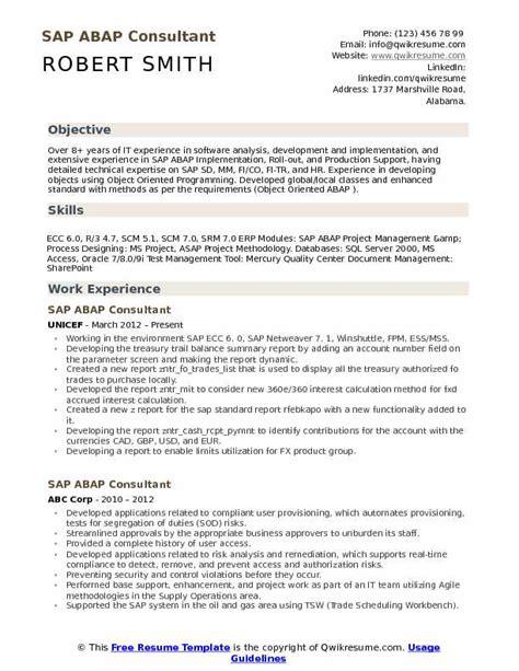bunch ideas of sap fi consultant resume sample nice classy sap fico