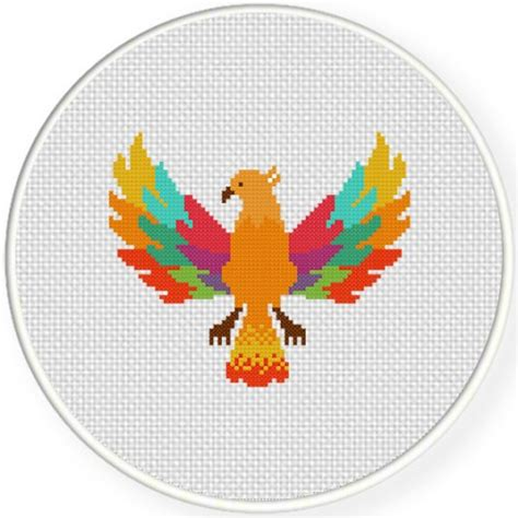 colorful stitches colorful cross stitch pattern daily cross stitch