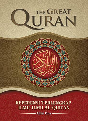 Buku Islam Quranic Food the great quran 2 jilid jual quran murah