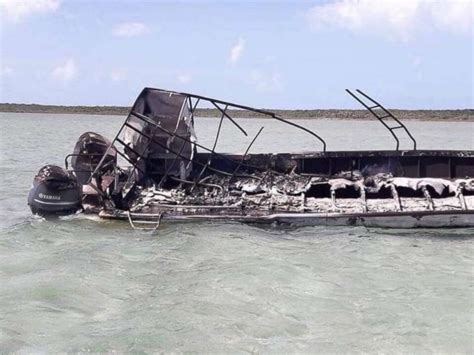 explosion on a boat american killed in bahamas boat explosion was on