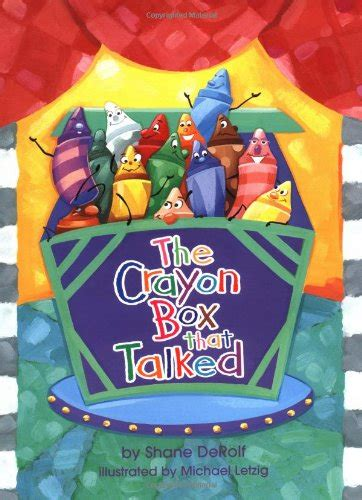 crayon picture book children s book review the crayon box that talked by