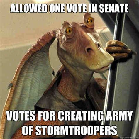 Jar Jar Binks Meme - 20 jar jar binks memes that will make you love the