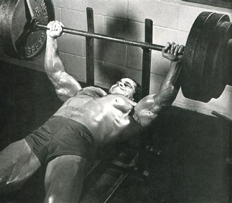 schwarzenegger bench press 178 best images about franco columbu bodybuilder on